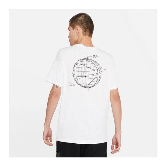 Nike Mens Sportswear Air LBR Tee, White, rebel_hi-res