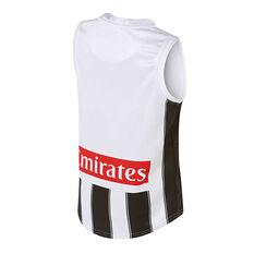 Collingwood Magpies 2019 Kids Away Guernsey Black / White 8, Black / White, rebel_hi-res