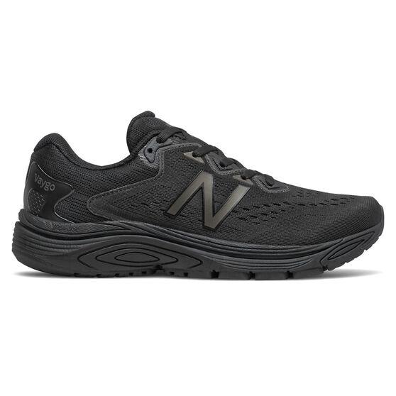 New Balance Vaygo Womens Running Shoes, Black, rebel_hi-res