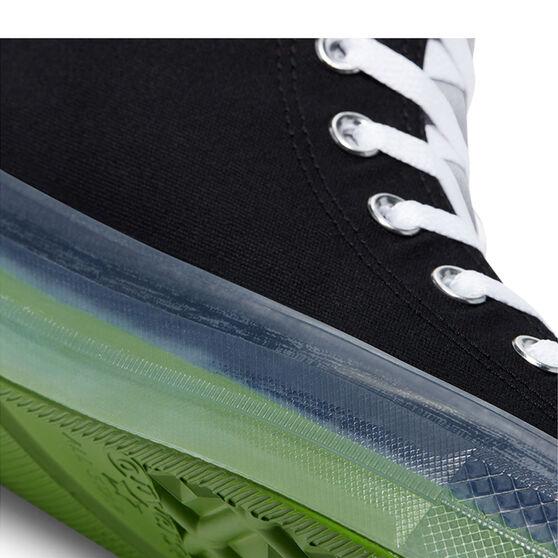 Chuck Taylor All Star CX Colourblocked High Top Mens Casual Shoes, Black/Green, rebel_hi-res