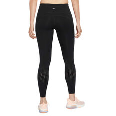 Nike Womens Epic Luxe Running Tights, Black, rebel_hi-res