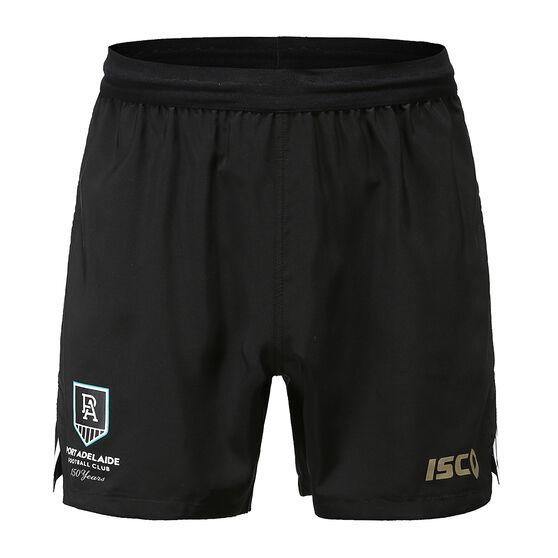 Port Adelaide 2020 Mens Training Shorts, , rebel_hi-res