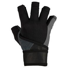 Harbinger Bioflex Elite Wristwrap Glove Grey S, Grey, rebel_hi-res