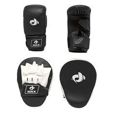 Rock Boxing Focus Pad Kit Black / White, , rebel_hi-res