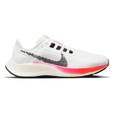 Nike Air Zoom Pegasus 38 Womens Running Shoes White/Black US 6, White/Black, rebel_hi-res