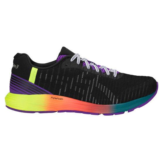 Asics Dynaflyte 3 Mens Running Shoes, Black / White, rebel_hi-res