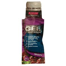 Endura Sports Energy Gel Sachet Grape, , rebel_hi-res