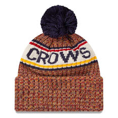Adelaide Crows New Era Authentic Knit Beanie, , rebel_hi-res