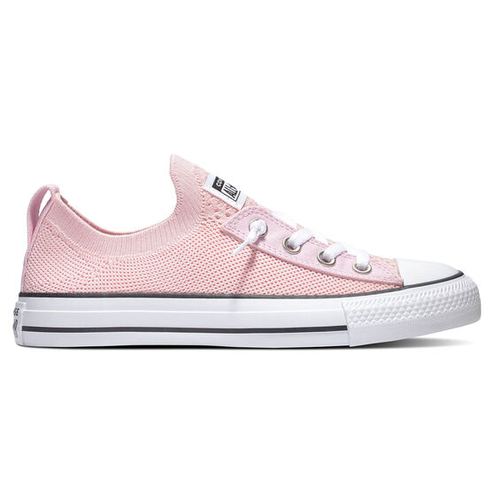 Converse Chuck Taylor All Star Shoreline Knit Low Top Womens Casual Shoes, Pink, rebel_hi-res