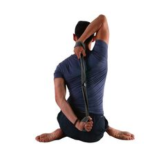 PTP Yoga Loop Strap L Charcoal L, , rebel_hi-res
