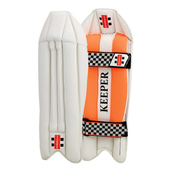 Gray Nicolls Elite Junior Wicketkeeping Pads Junior, , rebel_hi-res