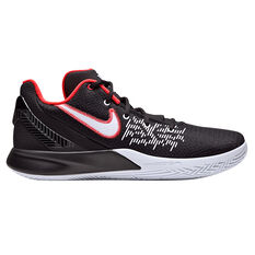 Nike Kyrie Flytrap II Mens Basketball Shoes Black / White US 7, Black / White, rebel_hi-res