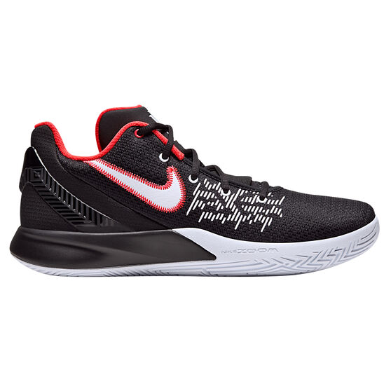 Nike Kyrie Flytrap II Mens Basketball Shoes, Black / White, rebel_hi-res