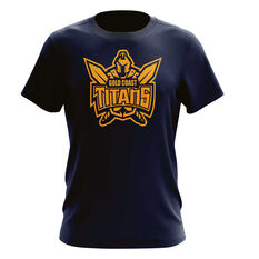 Gold Coast Titans Mens Outline Tee, , rebel_hi-res