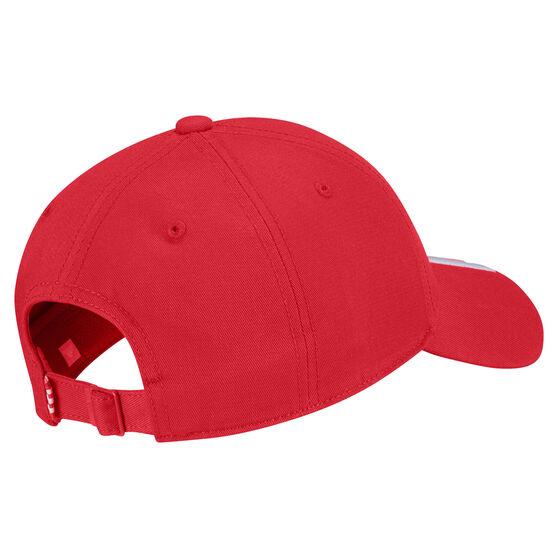 adidas Mens Baseball 3-Stripes Cotton Twill Cap, , rebel_hi-res