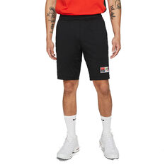 Nike F.C. Mens Dri-FIT Knit Football Shorts Black S, Black, rebel_hi-res