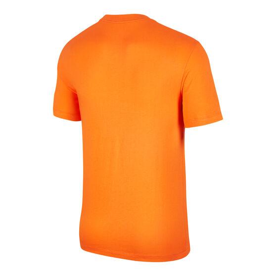 Nike Sportswear Mens Brandmark Tee, Orange, rebel_hi-res