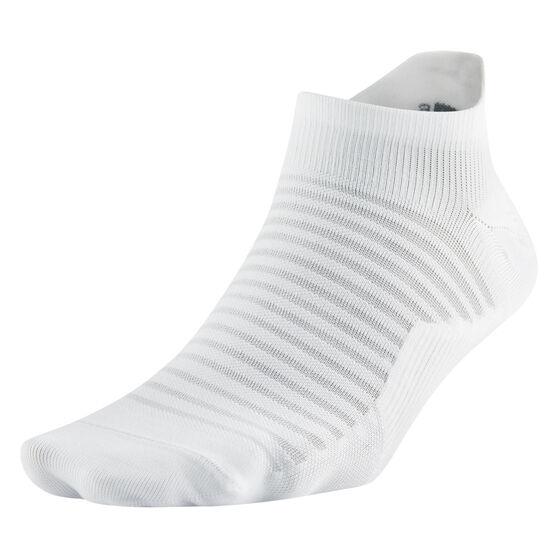 Nike Spark Lightweight No Show Socks White S, White, rebel_hi-res