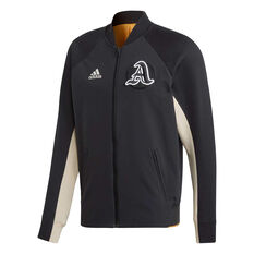 adidas Mens VRCT Jacket Black S, Black, rebel_hi-res