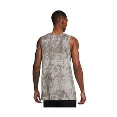 Nike Mens Dri-FIT Story Pack Training Tank Grey XS, Grey, rebel_hi-res