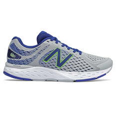 New Balance 680v6 2E Mens Running Shoes Blue/White US 7, Blue/White, rebel_hi-res