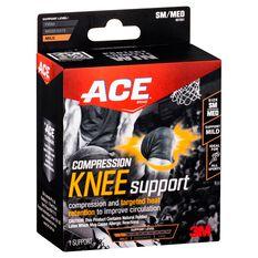 ACE Compression Knee Support Black S / M, Black, rebel_hi-res
