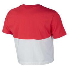 dbc19d828fed4 ... Nike Womens Sportswear Heritage Crop Tee White XS, White, rebel_hi-res