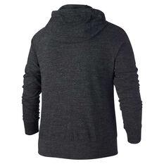Nike Womens Gym Vintage Hoodie Plus Black XL, Black, rebel_hi-res