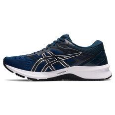 Asics GT 1000 10 Mens Running Shoes Black/Blue US 8, Black/Blue, rebel_hi-res