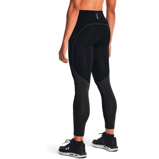 Under Armour Womens Fly Fast 2.0 Mesh 7/8 Tights, Black, rebel_hi-res