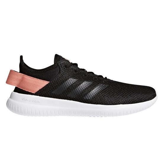 1d2c5141f1e adidas Cloudfoam QT Flex Womens Casual Shoes Black   Pink US 8 ...