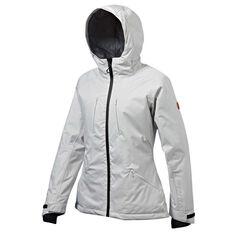 Tahwalhi Womens Lake Louise Ski Jacket Grey 8, Grey, rebel_hi-res