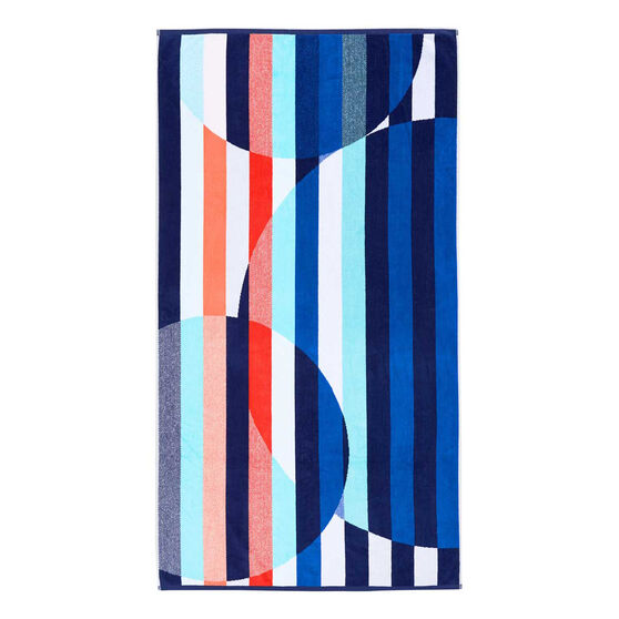Tahwalhi Sinca Stripe Beach Towel Idae Sport