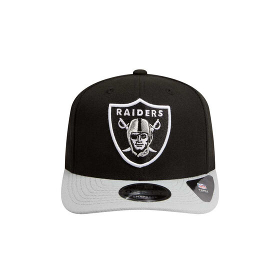 Oakland Raiders 2019 New Era 9FIFTY Original Fit Cap Black / Grey M / L, Black / Grey, rebel_hi-res