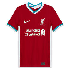 Liverpool FC 2020/21 Kids Stadium Home Jersey, Red, rebel_hi-res