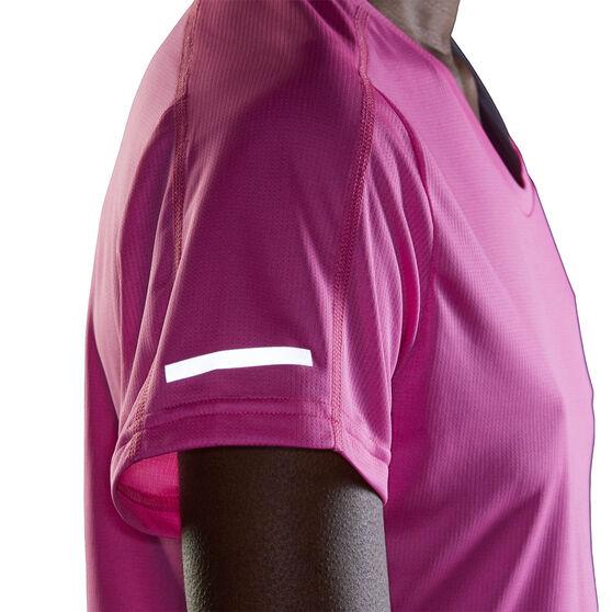 adidas Womens Run It Tee, Pink, rebel_hi-res