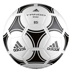 adidas Tango Glider Soccer Ball White / Black 3, White / Black, rebel_hi-res