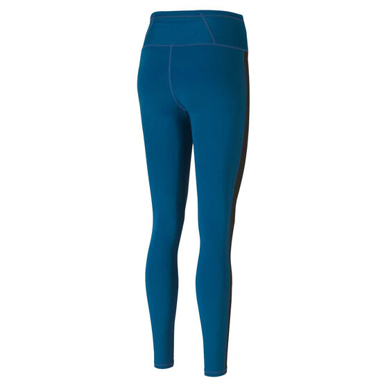 Puma Womens Be Bold High Rise 7/8 Tights, Blue, rebel_hi-res
