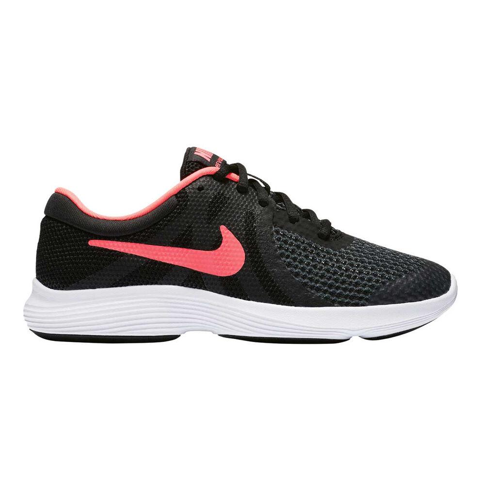 12fb08b2ac Nike Revolution 4 Girls Running Shoes Black / Pink US 4, Black / Pink,