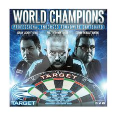 Target World Champions Dartboard, , rebel_hi-res