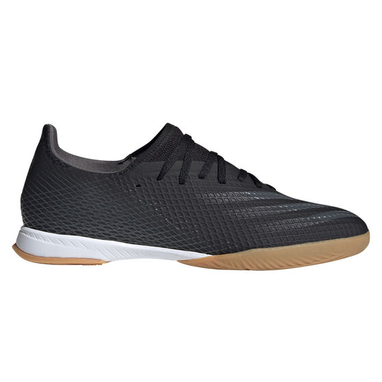 adidas X Ghosted.3 Indoor Soccer Shoes, Black, rebel_hi-res