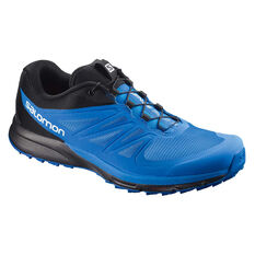 Salomon Sense Pro 2 Mens Trail Trail Running Shoes Blue / Black US 8, Blue / Black, rebel_hi-res