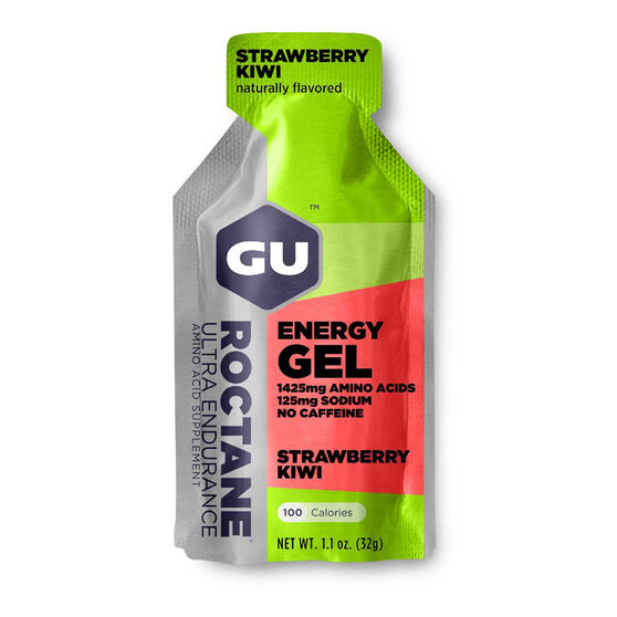 Gu  Energy Gel Strawberry Kiwi Roctane, , rebel_hi-res