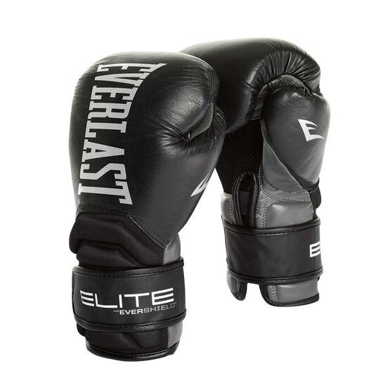 Everlast Contender Elite Training Boxing Gloves, Black, rebel_hi-res
