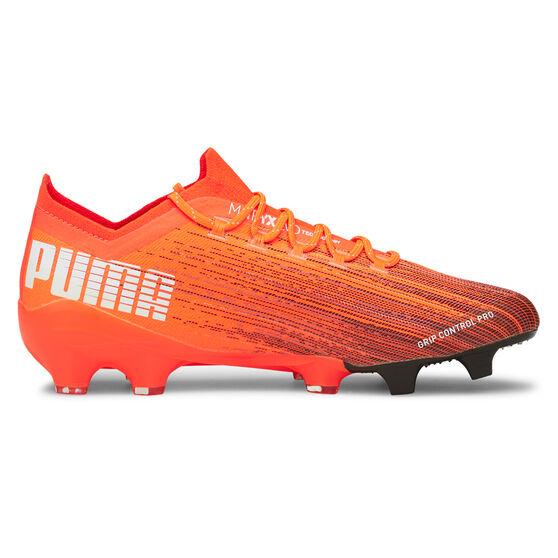 Puma Ultra 1.1 Football Boots, Orange/Black, rebel_hi-res