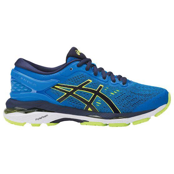 Asics Gel Kayano 24 Kids Running Shoes Blue   Yellow US 4  ec400fb0cda2