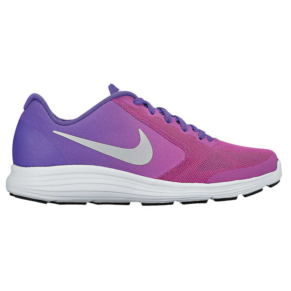 30b0e0e0e441e Nike Revolution Girls Running Shoes Purple   Pink US 4