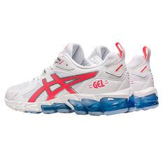 Asics GEL Quantum 180 Womens Casual Shoes, White/Coral, rebel_hi-res