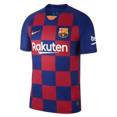 FC Barcelona 2019/20 Mens Home Jersey Blue / Red XS, , rebel_hi-res