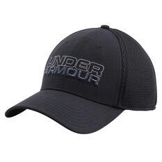 Under Armour Mens Sportstyle Mesh Cap Black M / L Adult, Black, rebel_hi-res